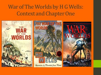 War of The Worlds by H G Wells: Context and Chapter One