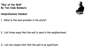 War of the Wall Focus Questions
