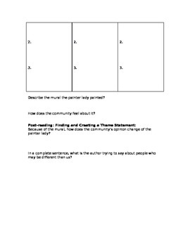 War of the Wall Reading Activity