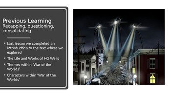 War of the Worlds (1) Book 1 Chapters 1 and 2