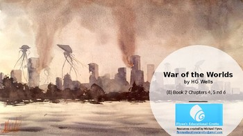 War of the Worlds (8) Book 2 Chapters 4, 5 and 6