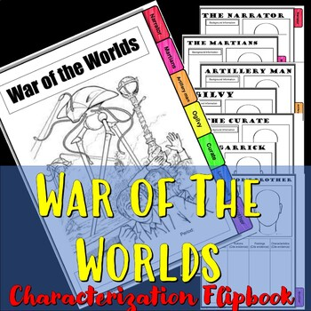 War of the Worlds Characterization Flip Book