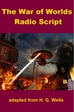 War of the Worlds script and mp3