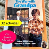 The War with Grandpa Novel Study for Special Education