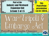 Embargo Act - War with Tripoli