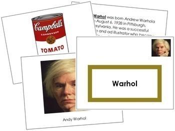 Warhol (Andy) Art Book - Color Border