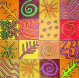Warhol Five Patterns in Nature {MrsBrown.Art}