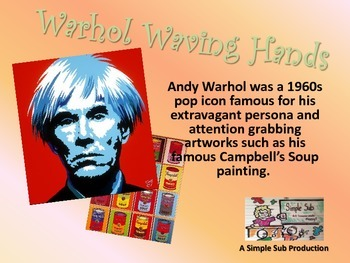 Warhol Waving Hands