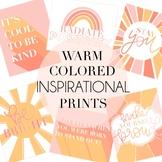 Warm Colored Inspirational Prints by Taracotta Sunrise