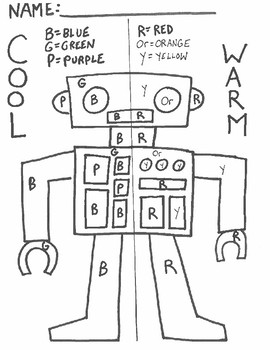 Warm/Cool Color Practice