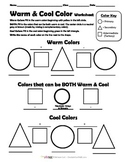 Warm & Cool Color Worksheet