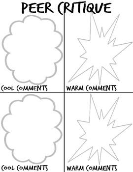 Warm & Cool Comment Critique