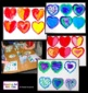 Art Lesson Valentine's Day Pop Art Hearts Warm and Cool Colors