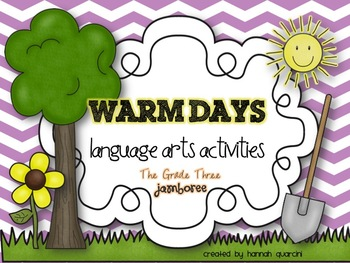 Warm Days Language Arts Activities