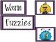 Warm Fuzzies! A Positive Behavior Management System