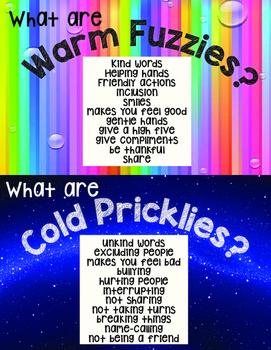Warm Fuzzies / Cold Pricklies Poster