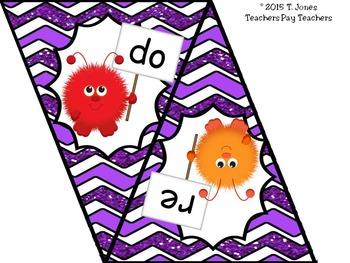 Banner for Music Classroom: Solfege {Warm Fuzzies}