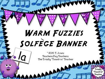 Warm Fuzzies Solfege Banner