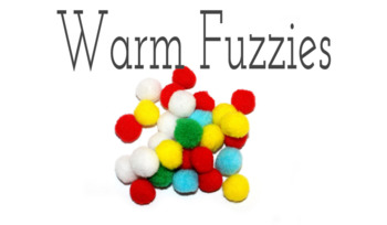 Warm Fuzzies - Spreading Good- Letters to the Troops (ELEMENTARY)