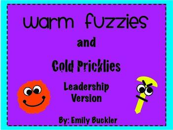 Warm Fuzzies/Cold Pricklies - Leadership Version