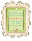 Warm Fuzzy Jar Poster