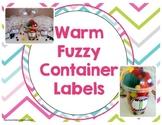 Warm Fuzzy Labels