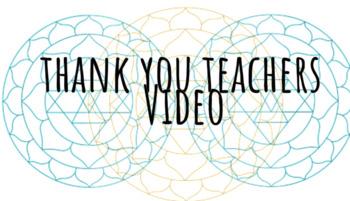Warm Fuzzy- National Teacher Day (May 8th) Thank a Teacher