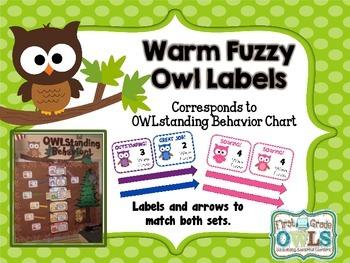 Warm Fuzzy Reward System Chart Labels