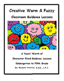 Warm & Fuzzy School Counselor Guidance Lesson eBook