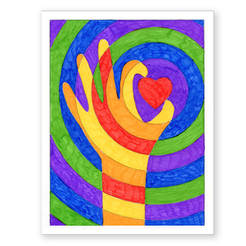 Warm Hands With A Heart By Art Projects For Kids Tpt