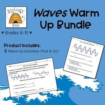 Waves Warm Up Bundle: MS-PS4-1