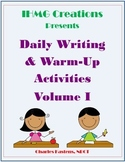 20 Weeks of Writing Prompts and Activities-Common Core