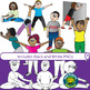 Warm Up Clip Art for Physical Education and Health