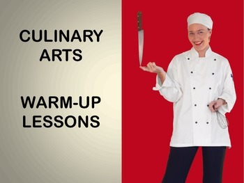 Warm-Up Slides for Culinary, Foods, and Nutrition Courses