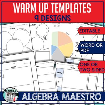 Warm-Up Templates