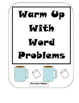 Warm Up With Word Problems