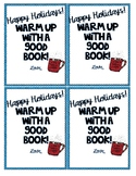 Warm Up With a Good Book Holiday Gift Tag!
