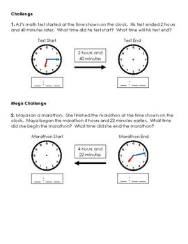 Warm-Up Worksheet 14 - 3rd Grade