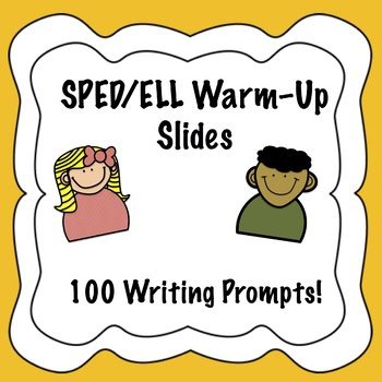 Bell Ringers for Special Education/ELL Middle School (100 prompts!)