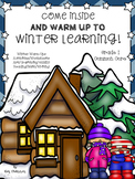 Warm Up to Winter Learning, Winter Activities, Printables and Games Grade 1