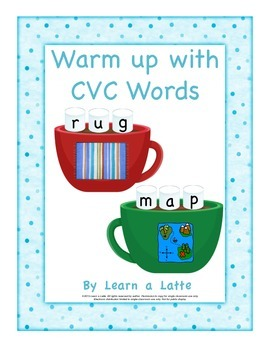 Warm Up with CVC Words (hot chocolate)