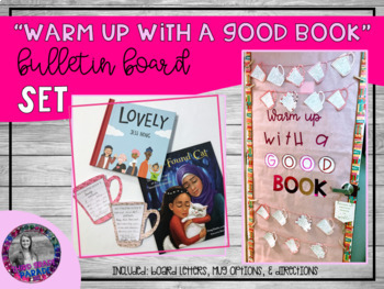 Warm Up with a Good Book Bulletin Board Set