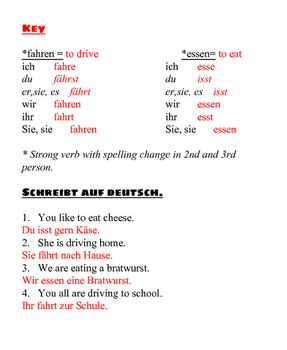 Warm Ups for German- Booklet #1: Basic Refresher (Classroom Management Aide)- De
