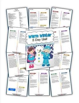 Warm Winter (5-day Thematic Unit)