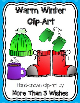 Warm Winter Clip Art Set
