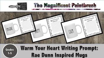 Warm Your Heart Mugs Writing Activity