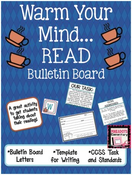 Warm Your Mind...Read! Winter Book Review Bulletin Board!