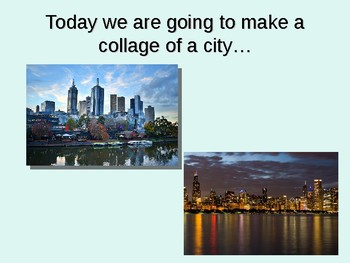 Warm and Cool Colored Cityscapes Powerpoint