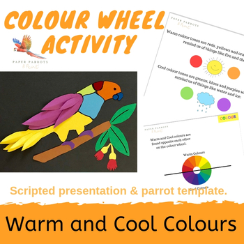 Warm and Cool Colours - Presentation and Activity