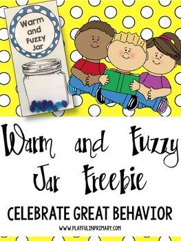 Warm and Fuzzy Behavior Freebie